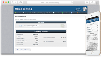 real time home banking